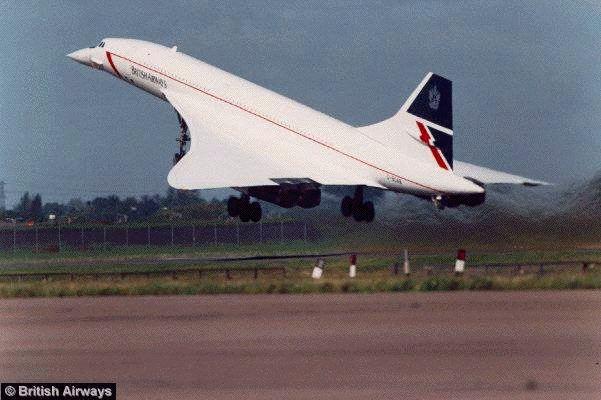 1977 El Concorde une París y Nueva York en 3 horas y media.